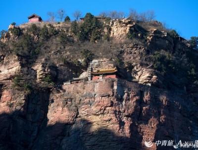 皇家公主骑虎登山 千古传奇 留下了中国三大悬空寺之一