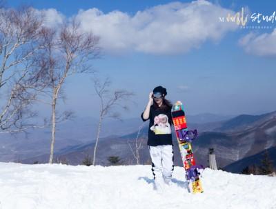 打卡包邮区阿尔卑斯山   安吉云上草原滑雪初体验
