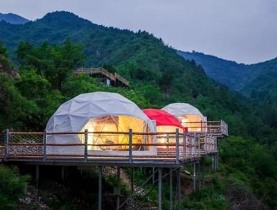 泡泡屋、帐篷、木屋,北京最火的民宿酒店都在这里了