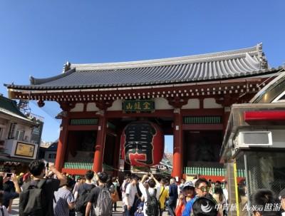 游东京浅草寺