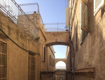以色列之旅---耶路撒冷旧城也有冷清的街巷、寂静的时刻