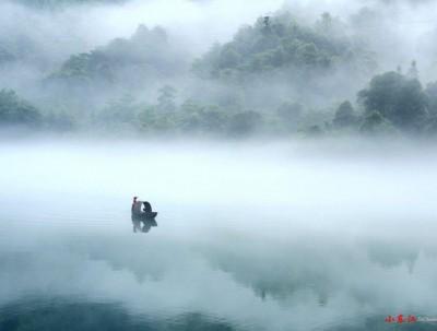 湖南郴州有一个神奇的地方,一旦起雾,将会瞬间成为人...